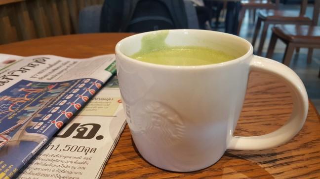 ชาเขียว แก้วเล็ก สตาร์บัคส์